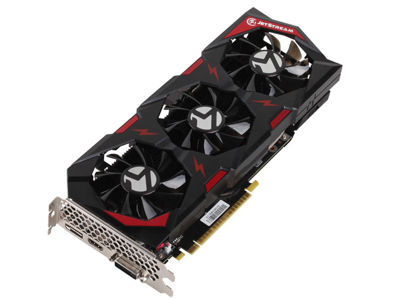 GeForce® GTX 1050Ti JetStream 4G(M.4)