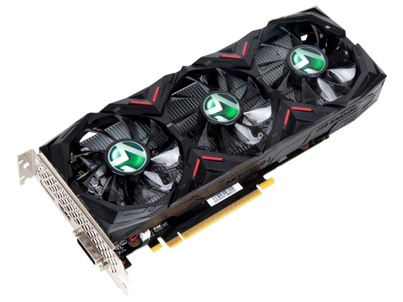 GeForce® GTX 1050Ti 巨无霸X3 4G